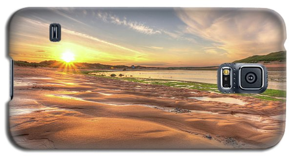 Sunset Over River Ythan Galaxy S5 Case