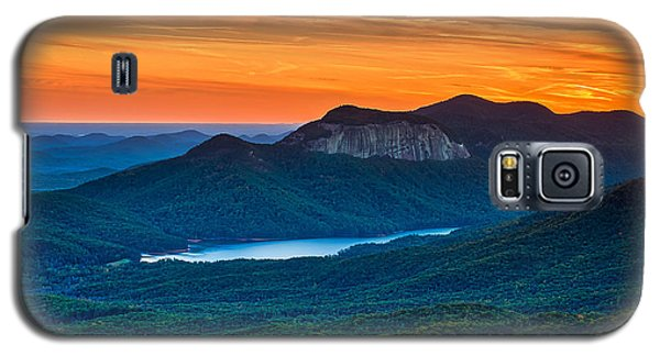 Sunset Over Table Rock From Caesars Head State Park South Carolina Galaxy S5 Case