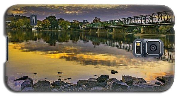 Sunset Over The Bridge Galaxy S5 Case