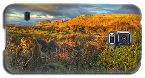 Sunset Over The Campsie Fells Galaxy S5 Case