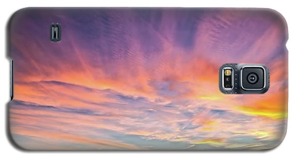 Galaxy S5 Case featuring the photograph Sunset Over The Dunes by Vivian Krug Cotton