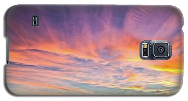 Sunset Over The Dunes Galaxy S5 Case by Vivian Krug Cotton