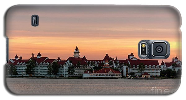 Sunset Over The Grand Floridian Galaxy S5 Case