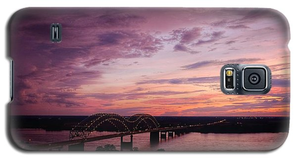 Sunset Over The I40 Bridge In Memphis Tennessee  Galaxy S5 Case