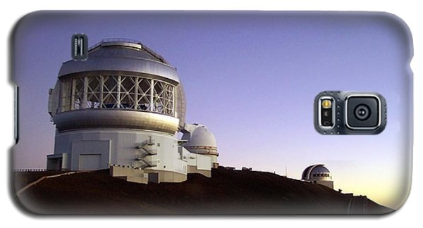 Sunset Over The Mauna Kea Observatories On Kona Galaxy S5 Case by Amy McDaniel
