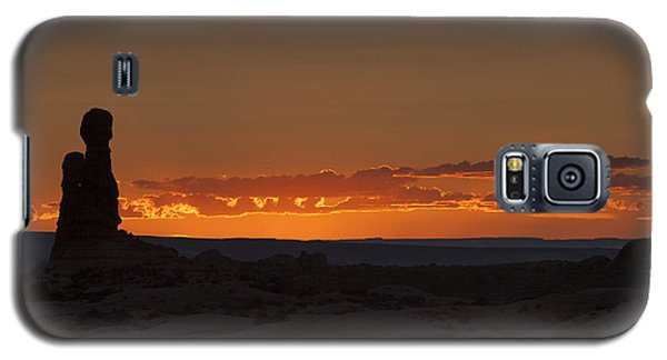 Sunset Over The Petrified Dunes Galaxy S5 Case