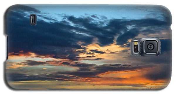 Sunset Over The Plains Of The Texas Panhandle 1 Galaxy S5 Case by MaryJane Armstrong