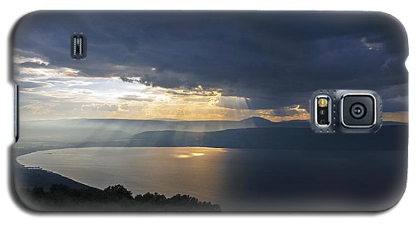 Sunset Over The Sea Of Galilee Galaxy S5 Case