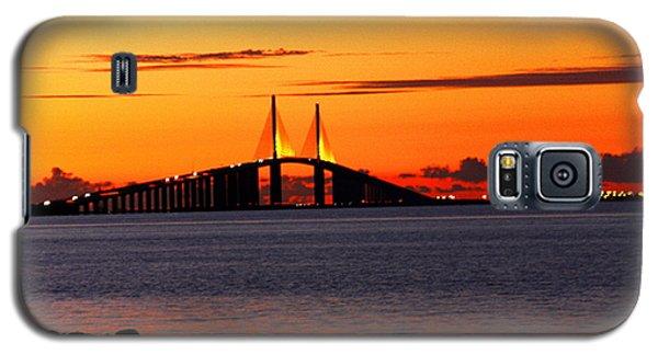 Sunset Over The Skyway Bridge Galaxy S5 Case