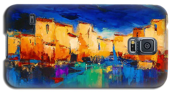 Sunset Over The Village Galaxy S5 Case