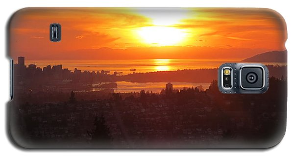 Sunset Over Vancouver Galaxy S5 Case