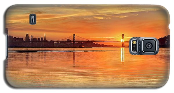 Galaxy S5 Case featuring the photograph Sunset Over Water - It Never Gets Old by Quality HDR Photography