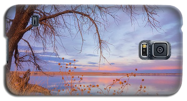 Galaxy S5 Case featuring the photograph Sunset Overhang by Darren White