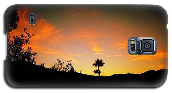 Sunset - Palm Mountain Galaxy S5 Case