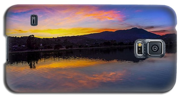 Sunset Panorama Of Mt. Tam And Richardson Bay Galaxy S5 Case