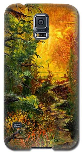 Sunset Path Galaxy S5 Case