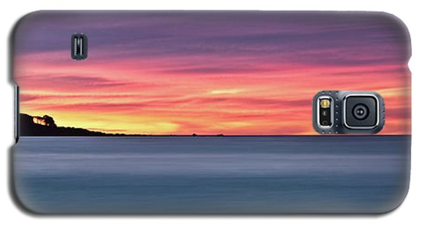 Sunset Penisular, Bunker Bay Galaxy S5 Case by Dave Catley
