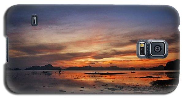 Sunset Pi Galaxy S5 Case