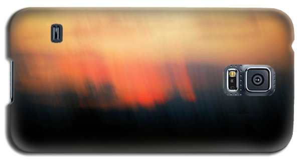 Galaxy S5 Case featuring the photograph Sunset Raining Down by Marilyn Hunt
