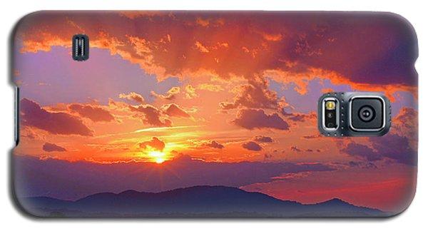 Sunset Rays At Smith Mountain Lake Galaxy S5 Case