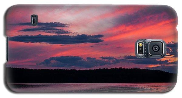 Sunset Red Lake Galaxy S5 Case