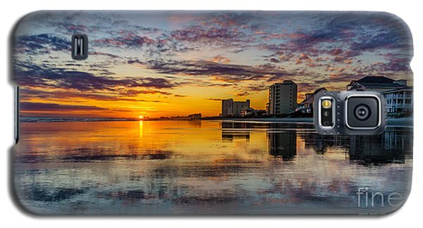 Sunset Reflection Galaxy S5 Case