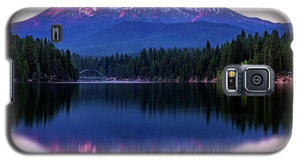 Sunset Reflection On Lake Siskiyou Of Mount Shasta Galaxy S5 Case