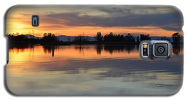 Sunset Reflections Galaxy S5 Case by AJ Schibig