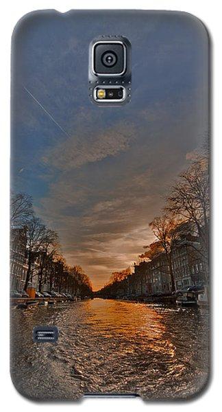 Sunset Ripples Galaxy S5 Case