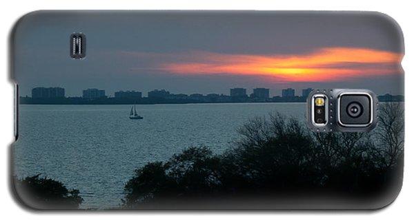 Sunset Sail On Sarasota Bay Galaxy S5 Case