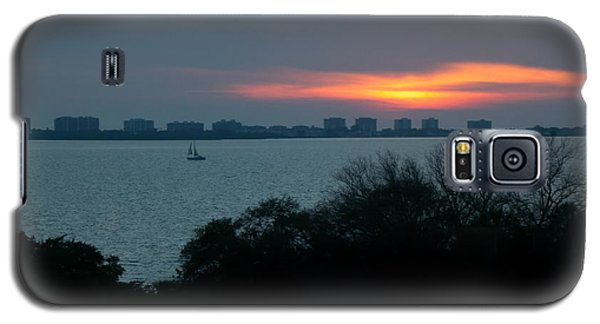 Sunset Sail On Sarasota Bay Galaxy S5 Case