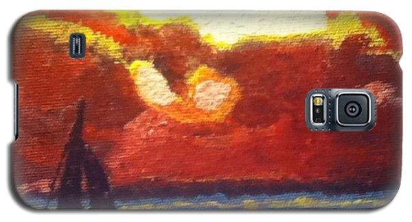 Sunset Sail Galaxy S5 Case