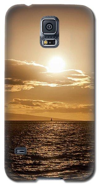 Sunset Sailboat Galaxy S5 Case