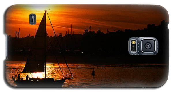 Sunset Sailing Galaxy S5 Case