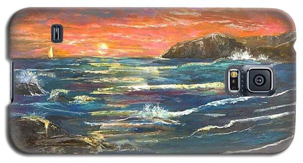 Sunset Sails Galaxy S5 Case