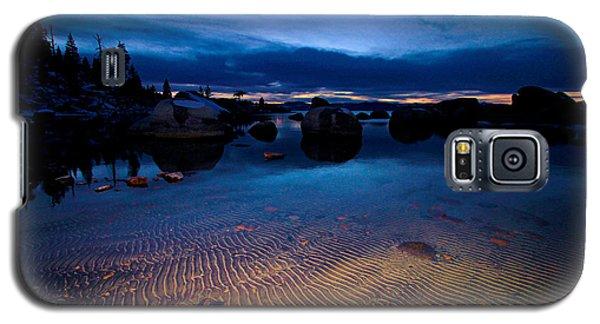 Sunset Sand Ripples Galaxy S5 Case