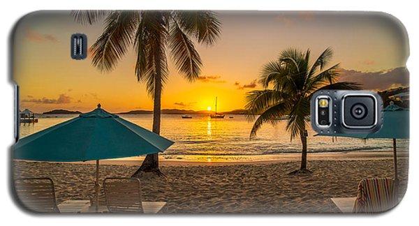 Sunset Secret Harbor Galaxy S5 Case