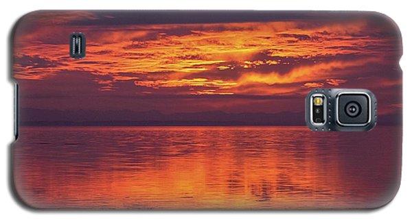 Sunset Sequim Galaxy S5 Case