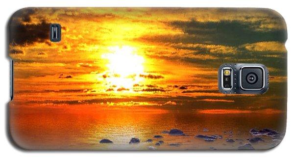 Sunset Shoreline Galaxy S5 Case