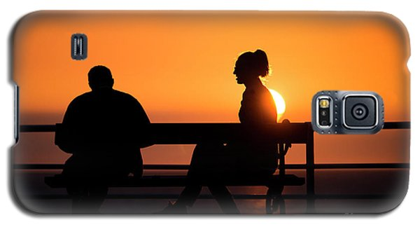 Sunset Silhouettes Galaxy S5 Case