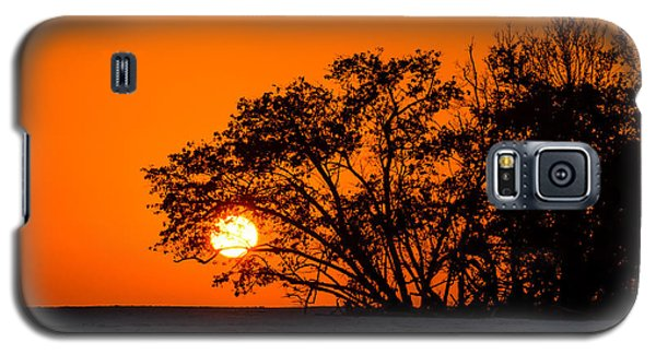 Sunset Sillouette Galaxy S5 Case