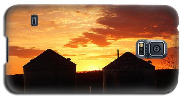 Sunset Silos Galaxy S5 Case