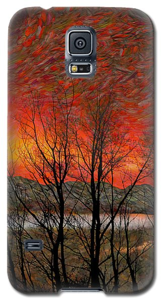 Sunset Soliloquy Galaxy S5 Case