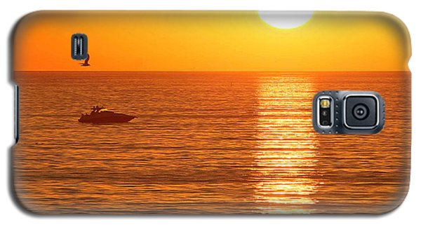 Sunset Solitude Galaxy S5 Case