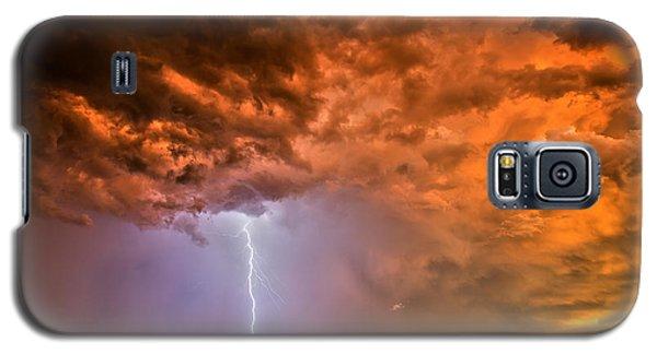 Sunset Strike Galaxy S5 Case