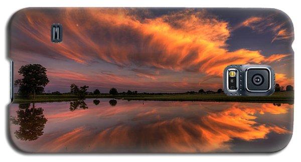 Sunset Symmetry Galaxy S5 Case