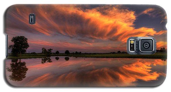 Sunset Symmetry Galaxy S5 Case
