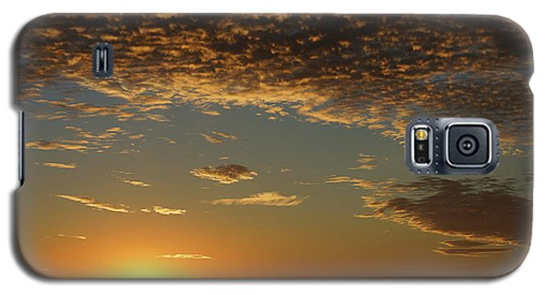 Galaxy S5 Case featuring the photograph Sunset by Thomas Bomstad