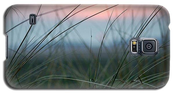 Sunset  Through The Marsh Grass Galaxy S5 Case