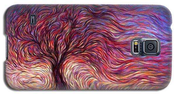 Sunset Tree Galaxy S5 Case
